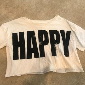 """Forever 21 """"HAPPY"""" Top 😊"""